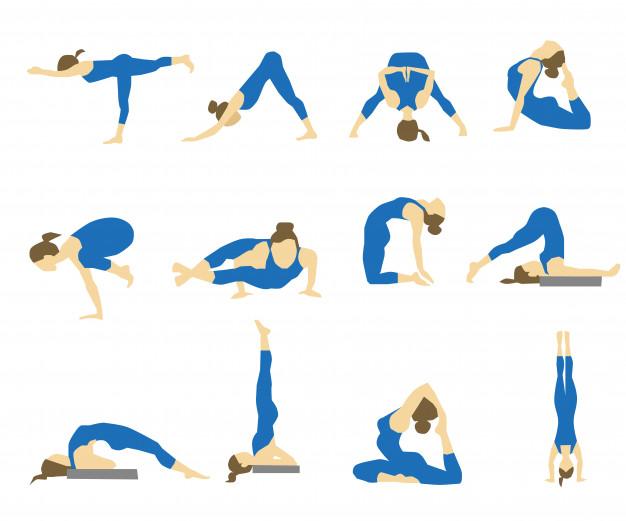Asanas of Yoga: